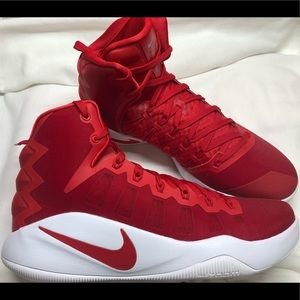 Nike Men Hyperdunk 2016 TB Basketball Red Size 13